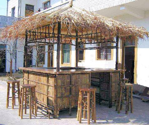 Real Bamboo Tiki Bars - For Home or Business